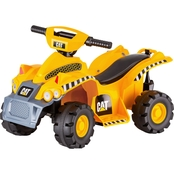 KidTrax Caterpillar CAT 6V Toddler Quad Electric Ride On