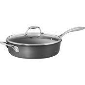 Tramontina Gourmet Hard Anodized 5.5 Qt. Covered Deep Saute Pan