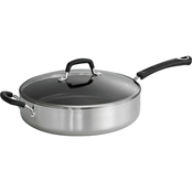 Tramontina Style Polished 5.5 Qt. Covered Saute Pan