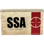 Nosler Silver State Armory 5.56 NATO 77 Gr. Hollow Point Boat Tail, 20 Rounds