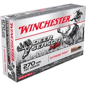 Winchester Deer Season .270 Win 130 Gr. Extreme Point Polymer Tip, 20 Rounds