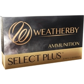 Weatherby Select Plus Ammunition 6.5-300 Weatherby 127 Gr. Barnes LRX, 20 Rounds