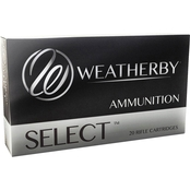 Weatherby Select Plus .240 Weatherby 100 Gr. Normal Spitzer, 20 Rounds