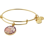 Alex and Ani Words Are Powerful, Can You Dig It Charm Bangle