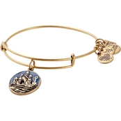 Alex and Ani Charity By Design Sand Castle Charm Bangle