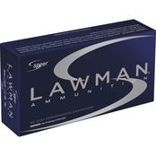 CCI Speer Lawman 9mm 124 Gr. TMJ, 50 Rounds