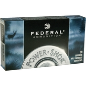 Federal PowerShok .308 Win 150 Gr. Copper Lead Free, 20 Rounds