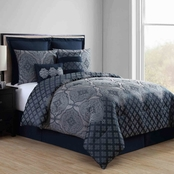 VCNY Adisha 8 Pc. Comforter Set