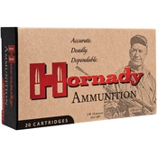 Hornady Custom .22 Hornet 45 Gr. Soft Point, 50 Rounds