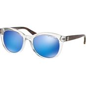 Michael Kors Mirrored Round Sunglasses 0MK6019