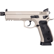 CZ 75 SP-01 Tactical 9MM 5.21 in. Threaded Barrel 18 Rd 2-Mags NS Pistol Urban Grey