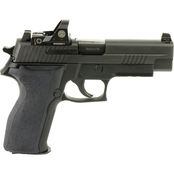 Sig Sauer P226 9mm 4.4 in. Barrel 15 Rnd Pistol Black with Romeo1
