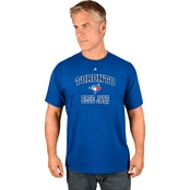 Majestic Athletic MLB Toronto Blue Jays Heart and Soul Tee