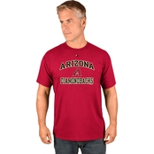 Majestic Athletic MLB Arizona Diamondbacks Heart and Soul Tee
