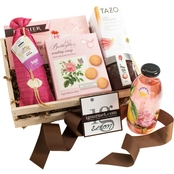 The Gourmet Market Rose Gift Crate
