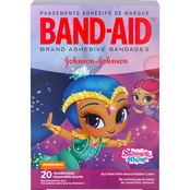 Band-Aid Brand Adhesive Bandages, Nickelodeon Shimmer and Shine, 20 Ct.
