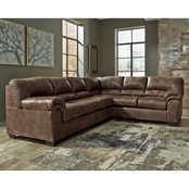 Signature Design by Ashley Bladen 3 Pc. Sectional LAF Loveseat/Chair/RAF Sofa