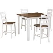 Signature Design by Ashley Woodanville Square Counter Table Set