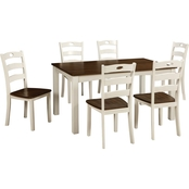 Signature Design by Ashley Woodanville Dining Room Table Set