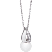 Blue Lagoon by Mikimoto 14K White Gold 6.5mm Cultured Akoya Pearl Pendant