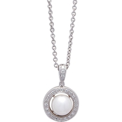 Blue Lagoon by Mikimoto 14K White Gold 7mm Cultured Akoya Pearl Pendant