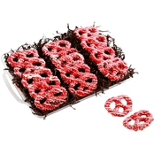 Chocolate Works Red Velvet Pretzel Tray, 1.9 lb., 15 ct.