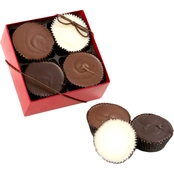 Chocolate Works Peanut Butter Cup 4 Pc. Box