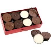 Chocolate Works Peanut Butter Cup 8 Pc. Box