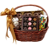 Chocolate Works Small Chocolate Gift Basket