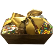 Chocolate Works Small Chocolate Market Gift Basket