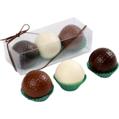 Chocolate Works Chocolate Golf Balls 3 Pc. Set