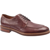 Johnston & Murphy Warner Y Moccasin Lace Oxford Dress Shoes