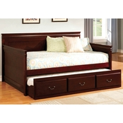 (D)Furniture of America Casey Daybed with Trundle