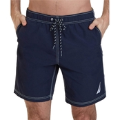 Nautica Quick Dry J Class Swim Trunks