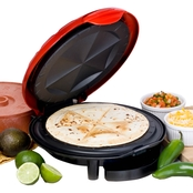 Elite Cuisine 11 In. Quesadilla Maker