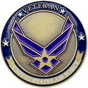Shields of Strength Air Force Veteran Coin