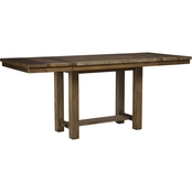 Signature Design by Ashley Moriville Dining Room Counter Extension Table