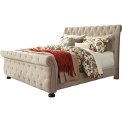 Signature Design by Ashley Willenburg Upholstered Sleigh Bed