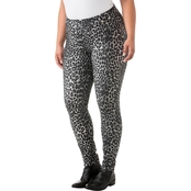Michael Kors Plus Size Panther Leggings
