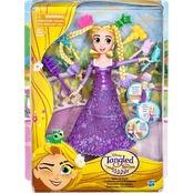 Disney Tangled the Series Spin n Style Rapunzel Figure
