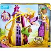 Disney Tangled the Series Swinging Locks Castle with Rapunzel Figure