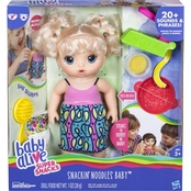 Baby Alive Super Snacks Snackin' Noodles Baby, Blonde