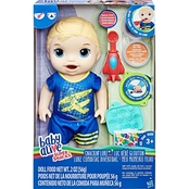 Baby Alive Super Snacks Snackin' Luke Baby Doll, Blonde