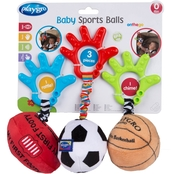 Playgro Wiggling Sports Balls