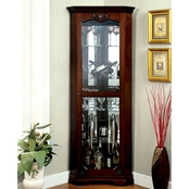 Furniture of America Ortley Curio Cabinet