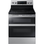 Samsung 5.9 Cu. Ft. Freestanding Electric Range with Flex Duo