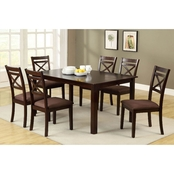 Furniture of America Weston II 7 Pc. Dining Set