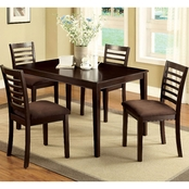 Furniture of America Eaton I 5 Pc. Dining Set