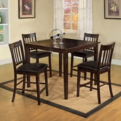 Furniture of America Northvalle II 5 Pc. Pub Dining Set