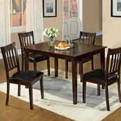 Furniture of America West Creek I 5 Pk. Dining Set